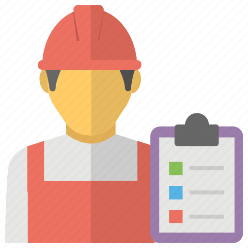 Audit Checklist Labor List Quality Control Inspection Warehouse Inspector Icon