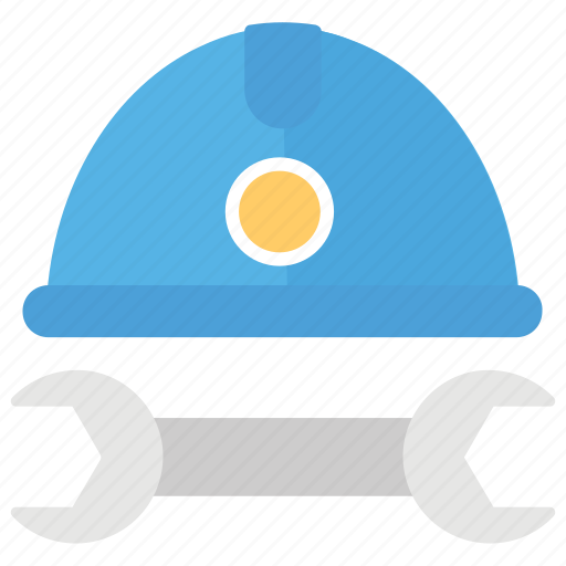 construction company, construction equipment, industrial worker, labour, spanner industrial icon
