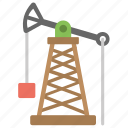 oil pumpjack, oil refinery, oil well pumpjack, oilfield, pumpjack icon