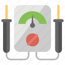 digital multimeter, digital voltmeter, gage electrometer, multimeter, voltage ampere meter icon