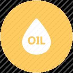 drop, droplet, fuel, gasoline, liquid, oil, oil drop icon