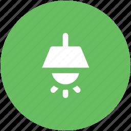 bulb, electric bulb, electric light, floor lamp, light, lightbulb, roof lamp icon