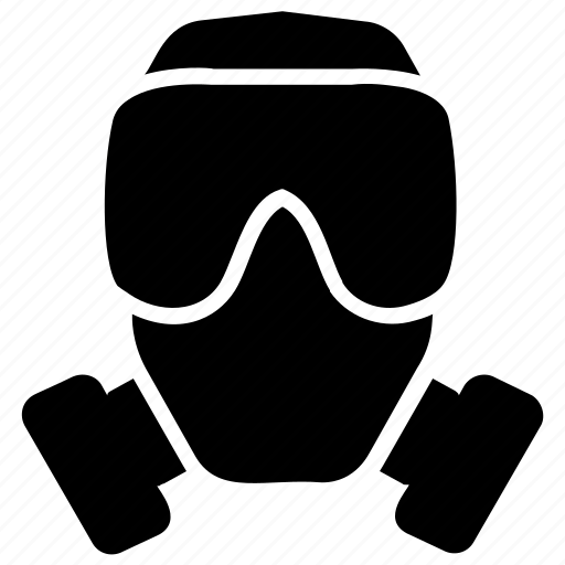 Chemical protection, gas mask, military gas mask, military mask, respirator icon - Download on Iconfinder