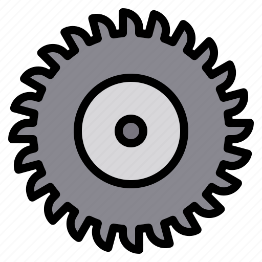 Circular, construction, equipment, repair, saw icon - Download on Iconfinder