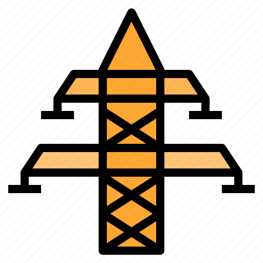 Building, electric, electricity, energy, tower icon - Download on Iconfinder