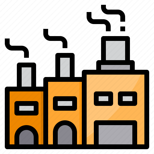 Factory, industry, manufacture, manufacturing, production icon - Download on Iconfinder
