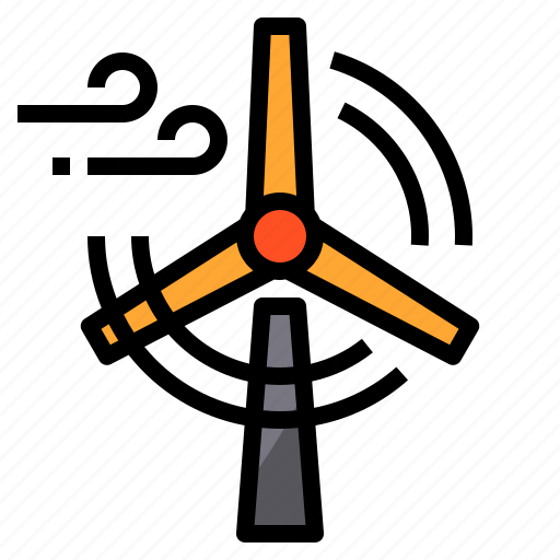 Factory, industry, mill, wind, windmill, windy icon - Download on Iconfinder