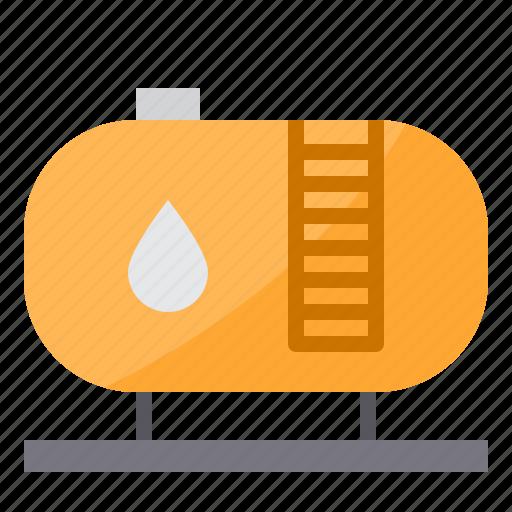 energy, fuel, gasoline, oil, tank icon