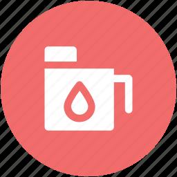 big bottle, bottle, chemical gallon, energy gallon, gallon, jerry can, water bottle icon