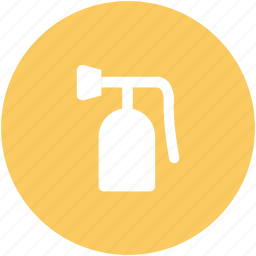 extinguisher, fire extinguisher, fire safety, fireman, protection device icon