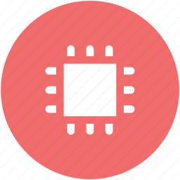 chip, cpu processor, desktop processor, microchip, processor icon