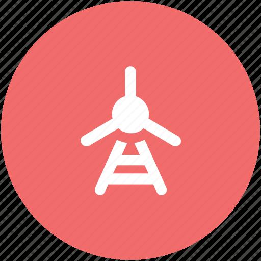 green energy, rotary engine, wind energy, wind engine, wind power, wind turbine icon