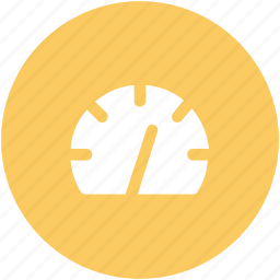 compass, odometer, pressure indicator, speed indicator, speedo, speedometer icon