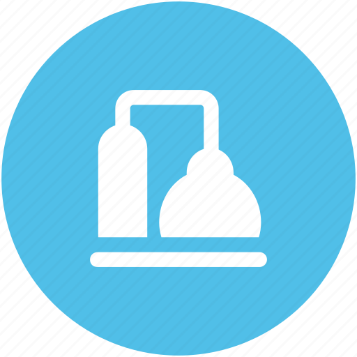 boiler, concrete cauldron, construction, factory boiler, industry work icon
