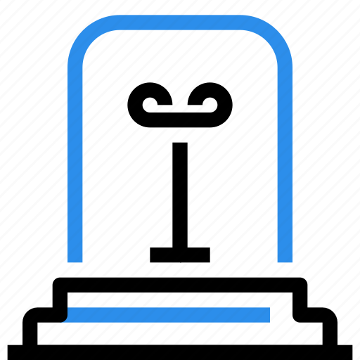 alram, bell, factory, industrial, industry, light, production icon