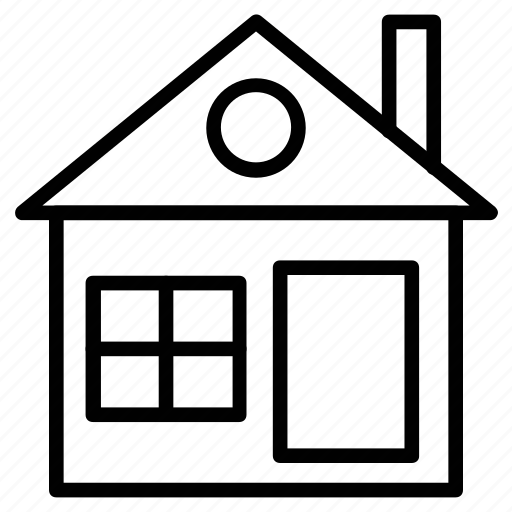 building, home, house, shack, villa icon