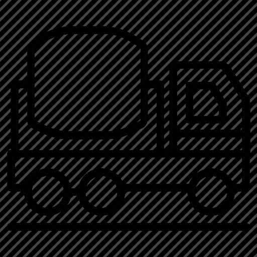 concrete buggy, concrete truck, concrete vehicle, construction, power buggy icon