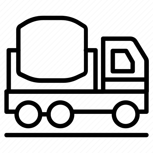Concrete buggy, concrete truck, concrete vehicle, construction, power buggy icon - Download on Iconfinder