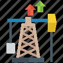 cargo crane, construction crane, crane pulley, industrial crane, tower crane icon