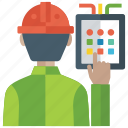code scanning, investigation, pincoding, programming code, scanning icon