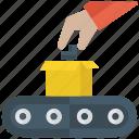 logistic mechanics, management, mechanism, procedure, strategy planning icon