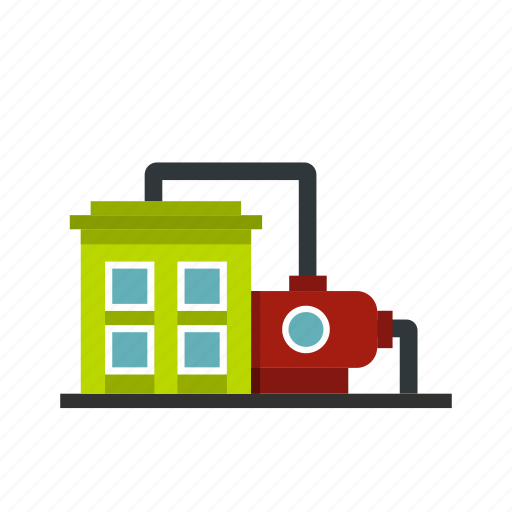 building, energy, factory, industrial, industry, plant, power icon