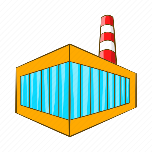 bottling, brewery, building, building icon, cartoon, factory, sign icon