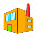 beer, building, cartoon, control, factory, quality, sign icon