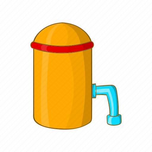 alcohol, barrel, brewery, cartoon, factory, sign, tap icon