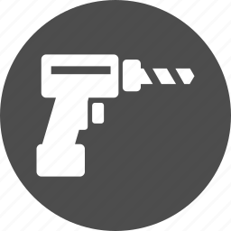 device, drill, engineer, equipment, gun, hardware, industry, instrument, machine, mechanic, perforator, repair, service, surgery, technology, tool, tools, trepanation icon