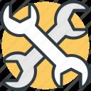 garage tool, mechanic, repair tool, spanner, wrench icon