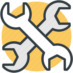 garage tool, mechanic, repair tool, spanner, wrench icon