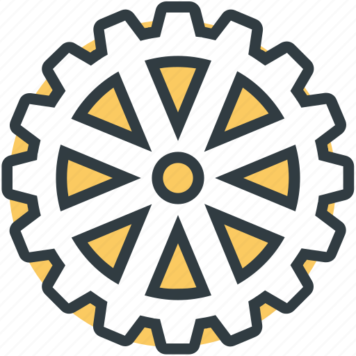 cog, gearwheel, option, repair tools, setting icon