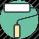 paint roller, painting, painting roller, painting tool, renovation icon