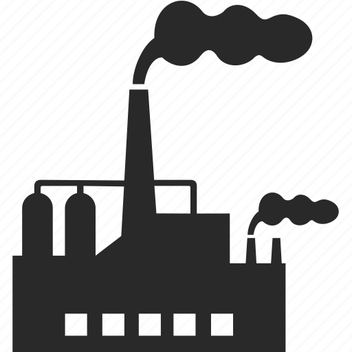 building, energy, industry, plant icon