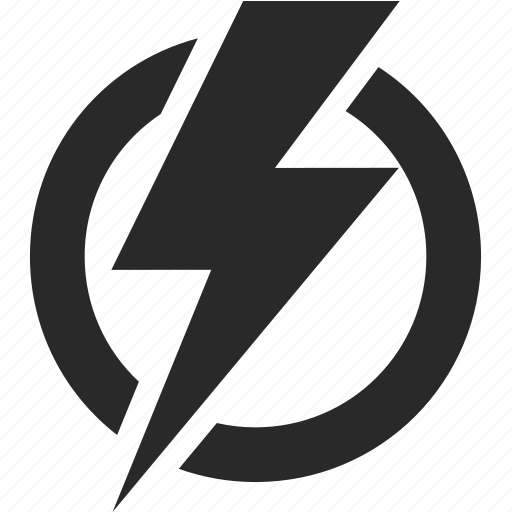 danger, electricity, industry, lightning, storm icon