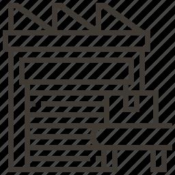 box, construction, industrial, storage icon