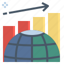 analytic, development, growth, improve, trend icon