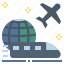 transport, transportation, travel, trip, voyage icon