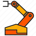 automation, industry, machine, manufacturing, mechanic, production, robot icon