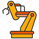 industry, machine, manufacturing, mechanic, production, robot, robotics icon