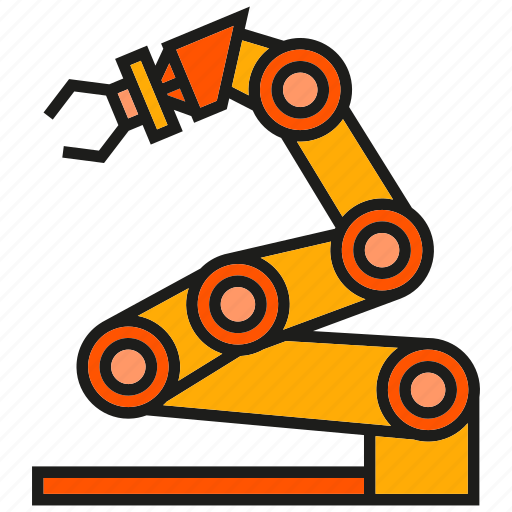 auto, industry, manufacturing, mechanic, production, robot, robotics icon