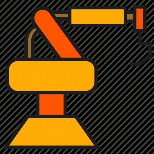 industry, machine, manufacturing, mechanic, production, robot, robotics icon