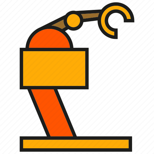 auto, industry, machine, mechanic, production, robot, robotics icon