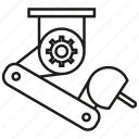automation, industry, machine, manufacturing, production, robot, robotic arm icon