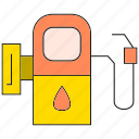 fuel, gas, gas station, gasoline, oil, petrol icon