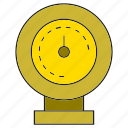 gauge, measure, scale, tap icon