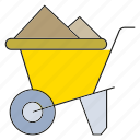 cart, energy, industry, mining, tram, trolley icon