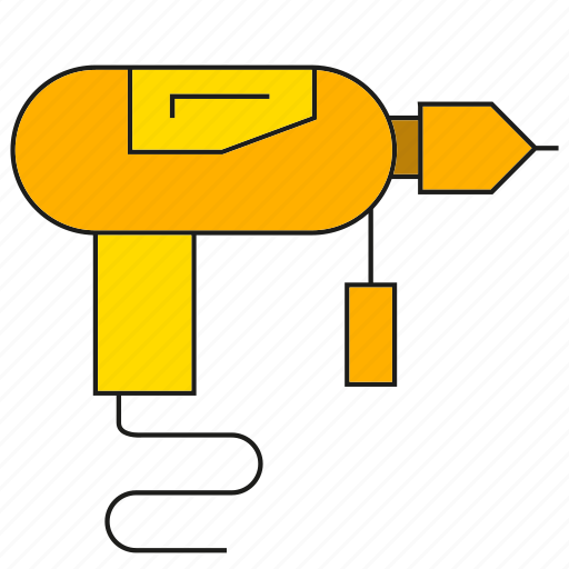 auger, awl, broach, drill, driller, reamer, tool icon
