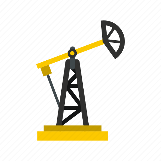 business, drilling, fuel, gas, industry, oil, rig icon